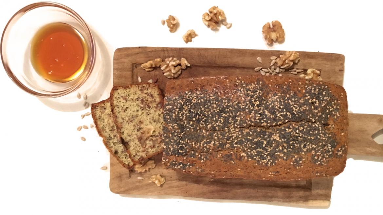 Paleo-Walnuss-Honig-Brot